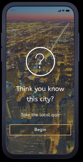 Launch a quiz